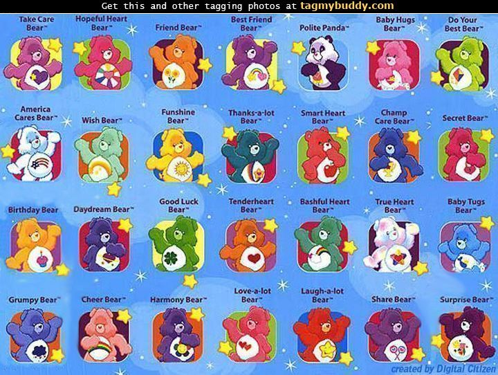 Types Of Care Bears Pictures To Pin On Pinterest Pinsdaddy